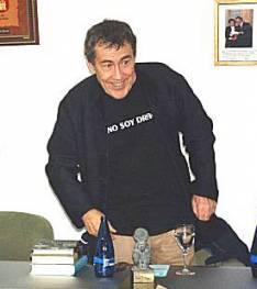 Sánchez Dragó en la Casa de Soria
