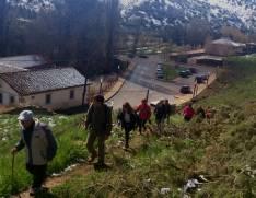Ruta de los Senderos en abril