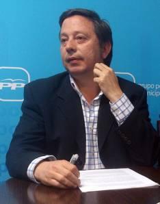 El concejal del PP Adolfo Saínz.