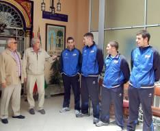 Recepción en la Casa de Soria en Sevilla