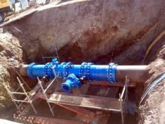 Nueva conexión hidráulica a los barrios