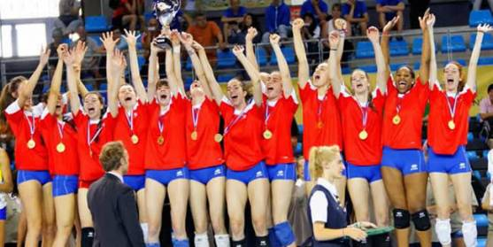 La concentración permanente de voleibol del CAEP Soria a por el Campeonato del Mundo Júnior