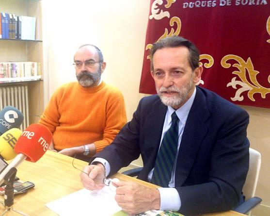 Rodríguez (izda.) y Sanz