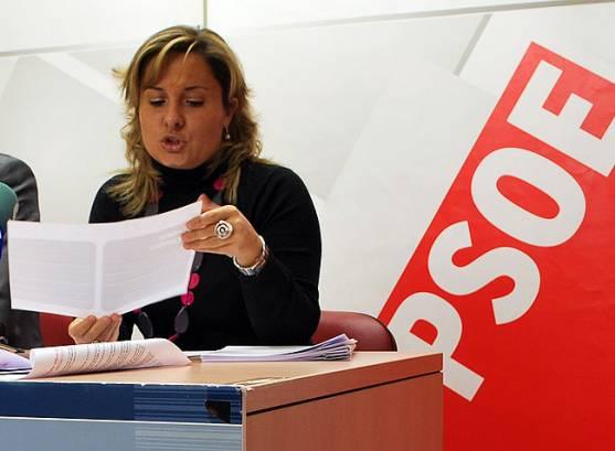 La procuradora Esther Pérez.