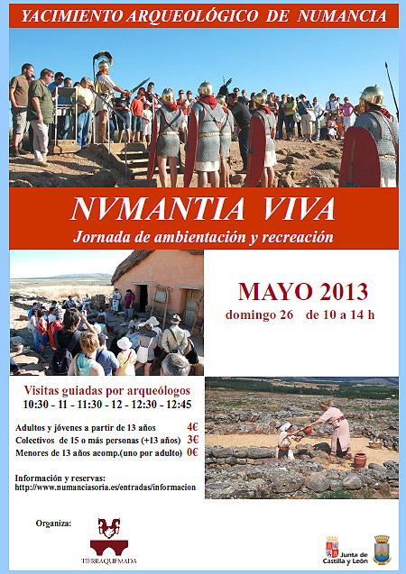 Jornada de ambientación en Numancia