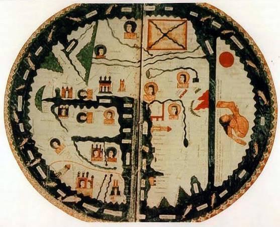 Mapa mundi del 'Beato'