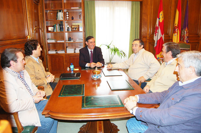 Encuentro de Diputación con ASAJA