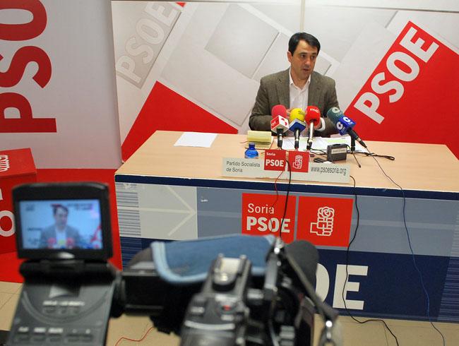 El procurador Javier Muñoz
