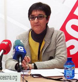 La concejal sanestebeña Pilar Delgado