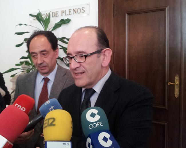 Manuel López (izda.) y José Manuel Jiménez.