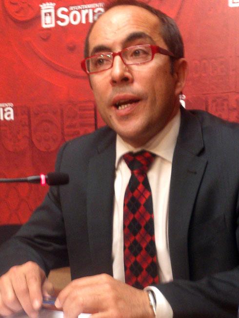 El teniente de alcalde, Luis Rey.
