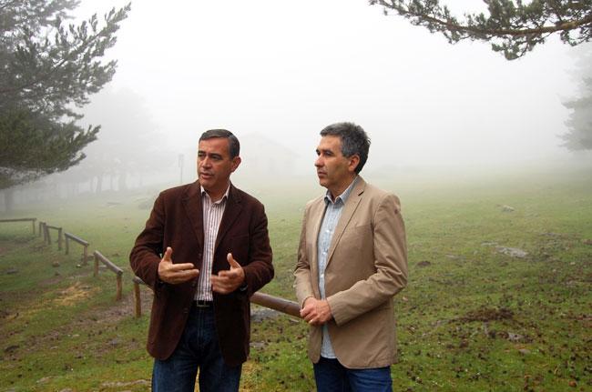 Pardo y Rioja en Boca de Prado, en Covaleda.