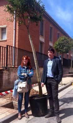 Ana Calvo y Francesc Navarro.