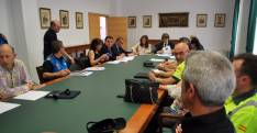 Momentos previos a la reunión