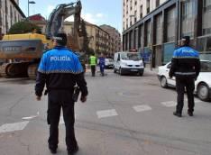 Policía Local, en una de sus actuaciones