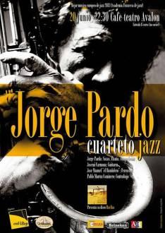 Cartel del concierto de jazz