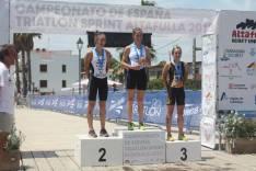Ana Noguera en el podium