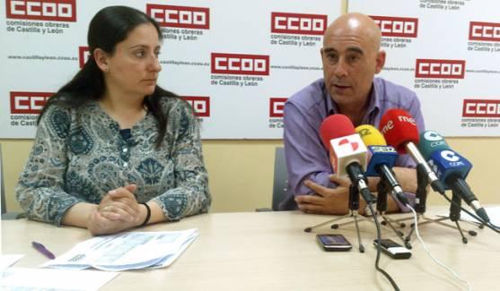 Ana Romero y Mariano Sanz.