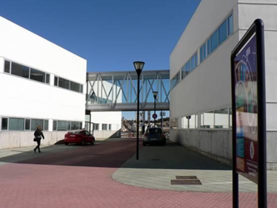 Exterior del Campus Duques de Soria en la capital.