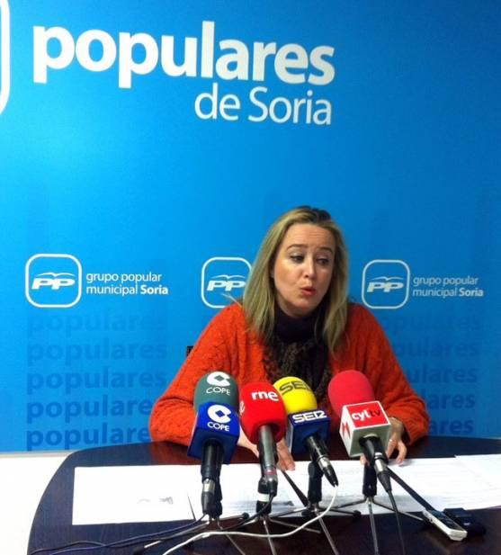 La concejal María José Fuentes.