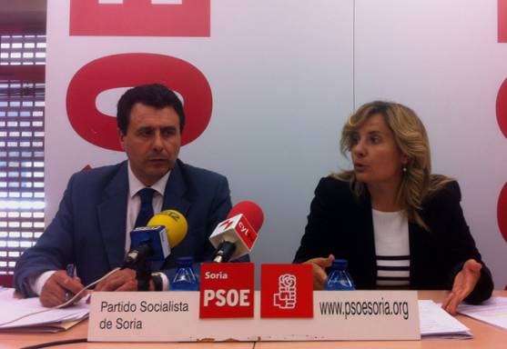 Félix Lavilla y Esther Pérez.