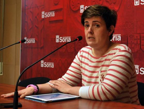 La concejal Ana Alegre.