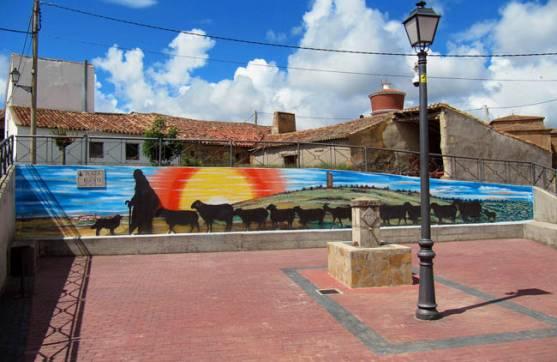El mural de Almarail.