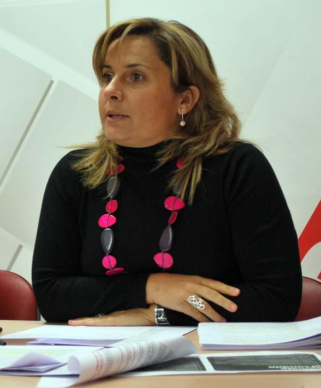 Esther Pérez, de Empleo del PSOE.