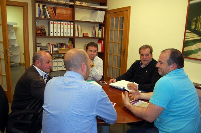 Encuentro de TURSORIA y la Diputación