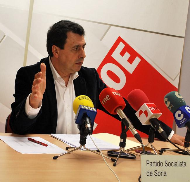 El diputado Félix Lavilla