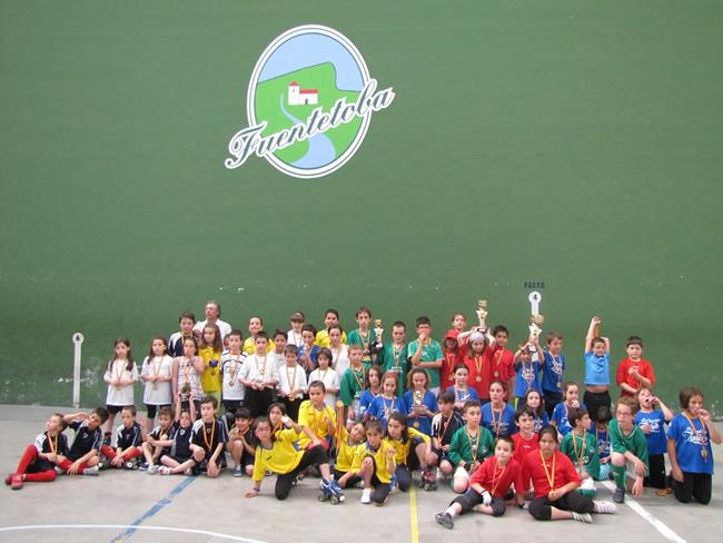 Foto de los peque participantes