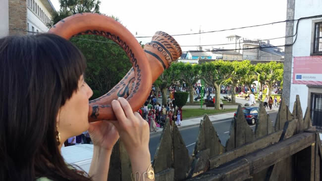 Foto 2 - Tierraquemada lleva su espectáculo celtíbero a Lugo en 'Arde Lucus'