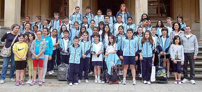 Niños del Sagrado Corazón.