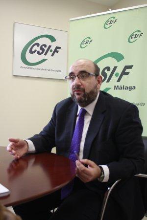 Borra, presidente nacional de CSI-F