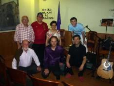 Imagen tras el concierto de Sochantría.