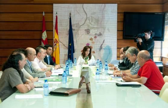 Reunión del Consejo Regional Agrario.