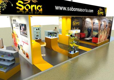 Estand de Saborea Soria