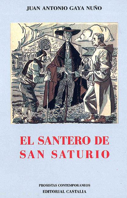 Portada del reeditado 'El santero de San Saturio'