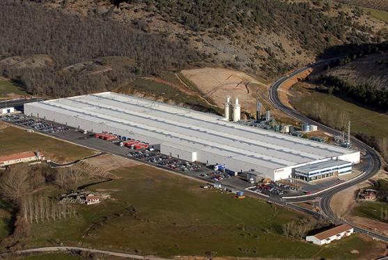 Imagen aérea de la planta de Puertas Norma