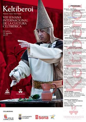 Tierraquemada celebra Keltiberoi 2013 para poner en valor la cultura celtíbera en Garray y la capital soriana