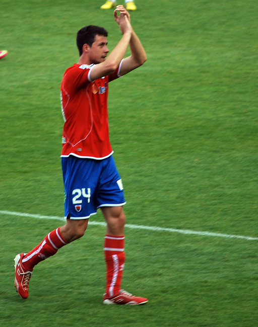 Martín en su último partido el 9 de junio.