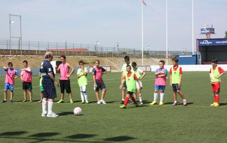 Campus infantil de fútbol