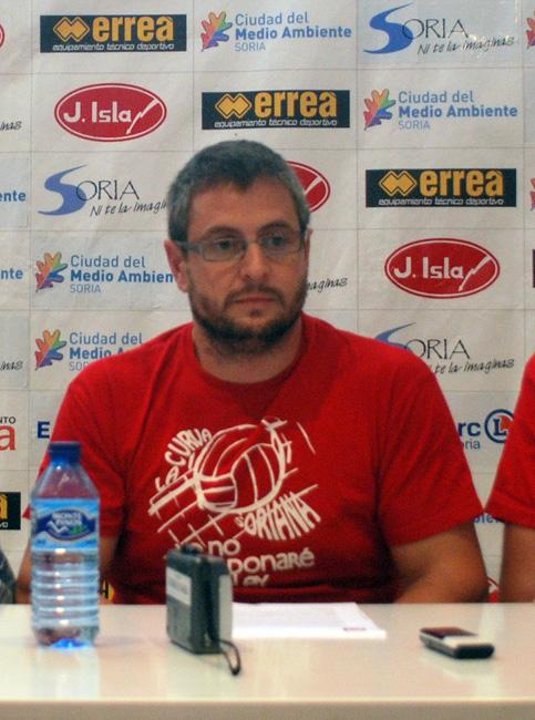 Cabrerizo, presidente de la Curva.