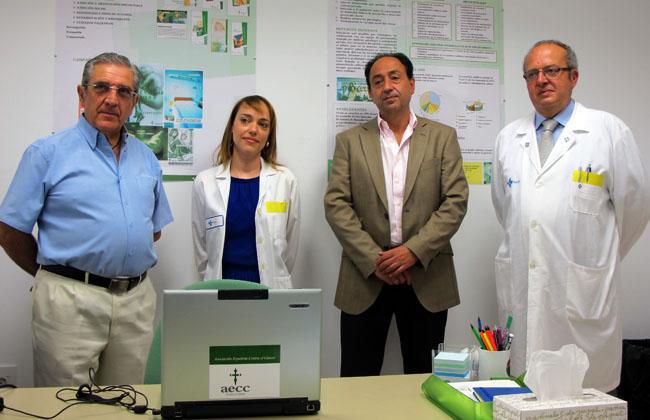 Ligero (izda.), García, López y Delgado.