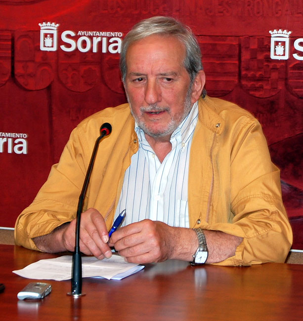 El concejal Jesús Bárez.