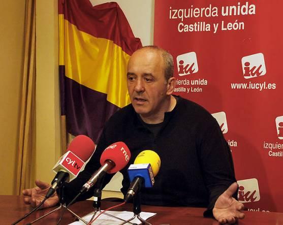 García, coordinador de IU Soria.
