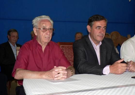 Luis Heras con Antonio Pardo