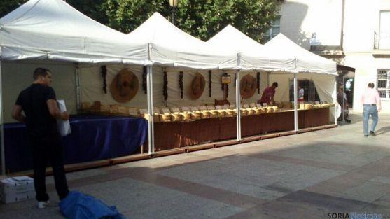 La VIII Feria de las Viandas arranca mañana al mediodía en la plaza de San Esteban
