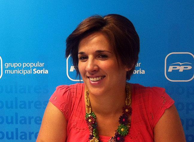 Rocío Gallardo, del PP.