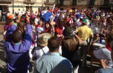 1.800 personas en la comida popular de cierre de las fiestas olvegueñas
